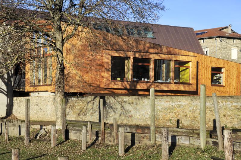 fenêtre et bardage bois