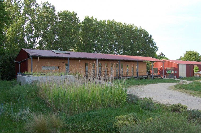 locaux de l'association des jardins de Lucie