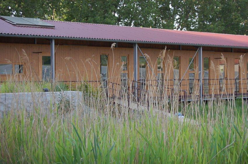 détail locaux de l'association des jardins de Lucie