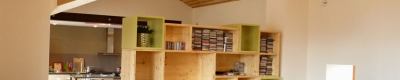 Maison en pisé à Brignais